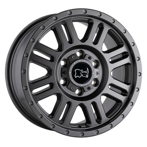 Black Rhino Yellowstone Matte Gunmetal Wheels