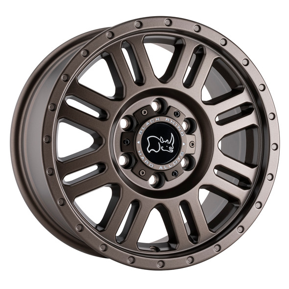 Black Rhino Yellowstone Matte Bronze Wheels