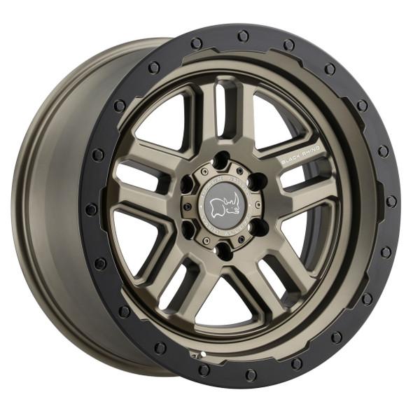 Black Rhino Barstow Matte Bronze W/ Matte Black Ring Wheels