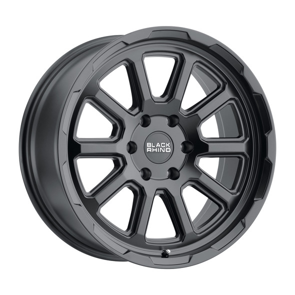 Black Rhino Chase Matte Black Wheels