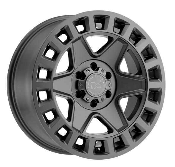 Black Rhino York Matte Gunmetal Wheels