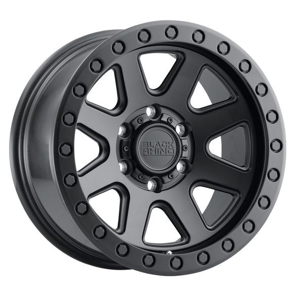 Black Rhino Baker Matte Black Wheels