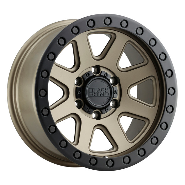 Black Rhino Baker Matte Bronze W/ Black Ring Wheels