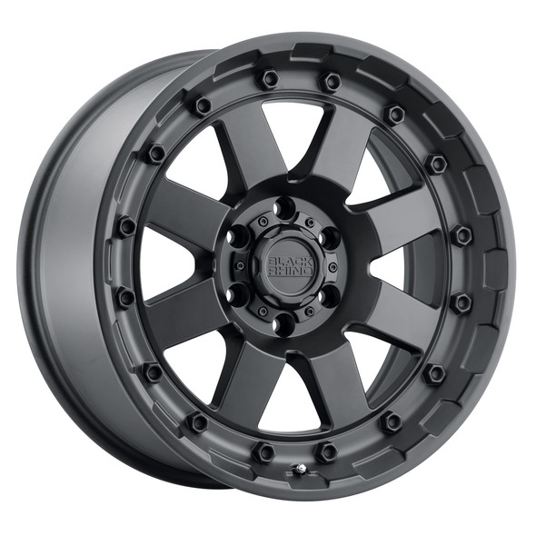 Black Rhino Cleghorn Matte Black Wheels
