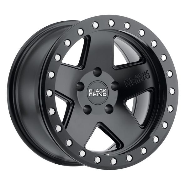 Black Rhino Crawler Matte Black Wheels