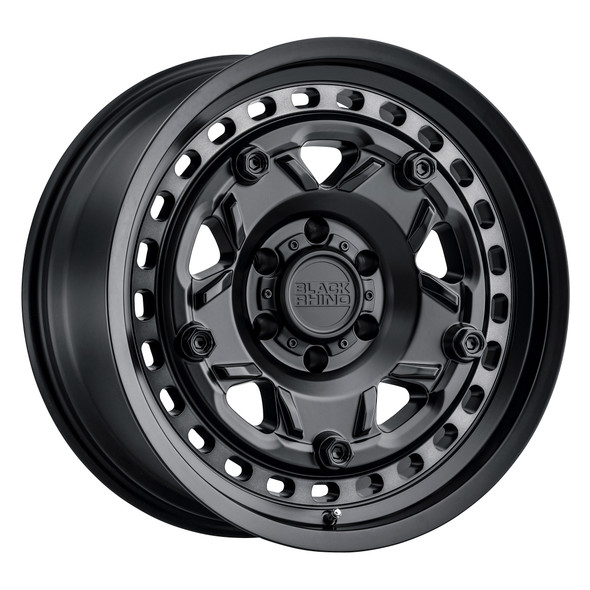Black Rhino Grange Matte Black W/ Machined Tint Ring Wheels