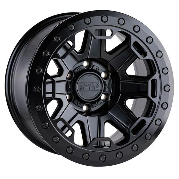 Black Rhino Rift Beadlock- Matte Black Wheels
