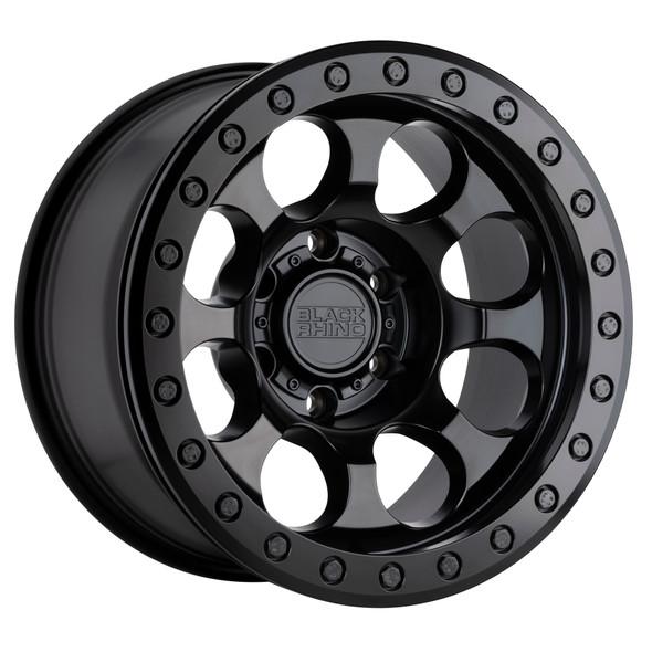 Black Rhino Riot Beadlock- Matte Black Wheels