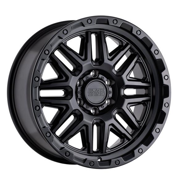 Black Rhino Alamo Matte Black W/ Black Bolts Wheels