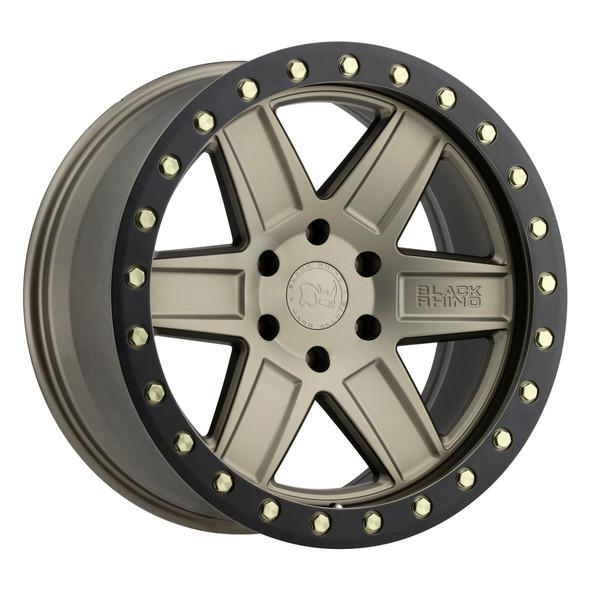 Black Rhino Attica Matte Bronze W/ Black Ring Wheels