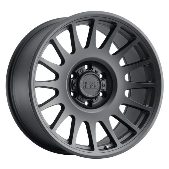 Black Rhino Bullhead Matte Black Wheels