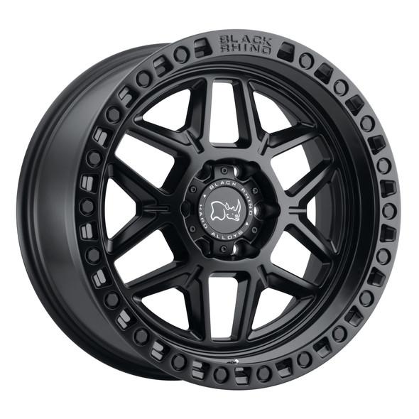 Black Rhino Kelso Matte Black Wheels