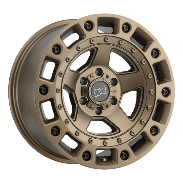 Black Rhino Cinco Bronze W/ Black Bolts Wheels