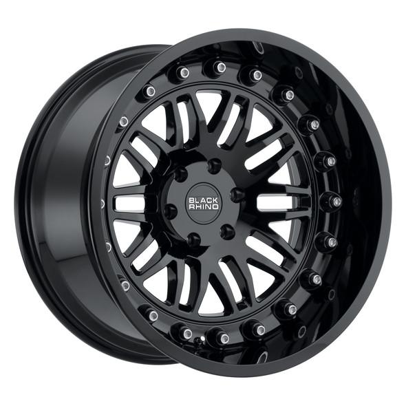 Black Rhino Fury Gloss Black Wheels