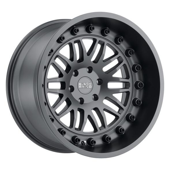 Black Rhino Fury Matte Gunmetal Wheels