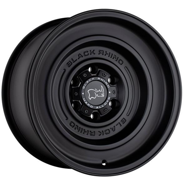 Black Rhino Solid Matte Black Wheels