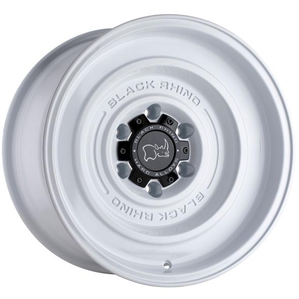 Black Rhino Solid Gloss White Wheels