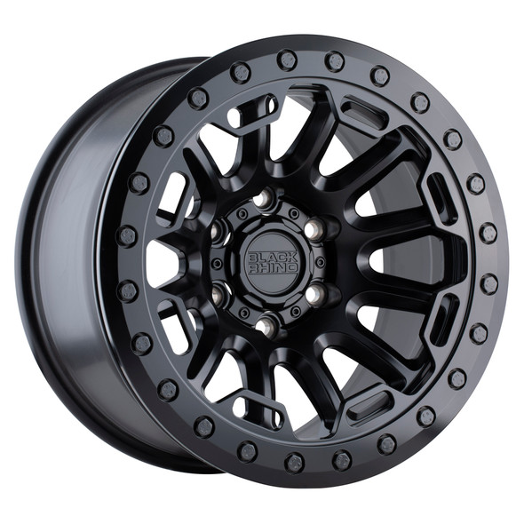 Black Rhino Ouray Beadlock- Matte Black Wheels