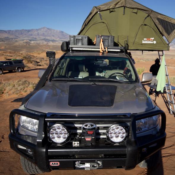 Cascadia 4X4 85 Watt Hood Solar Panel VSS System, Land Cruiser 200 Series (2008-15)