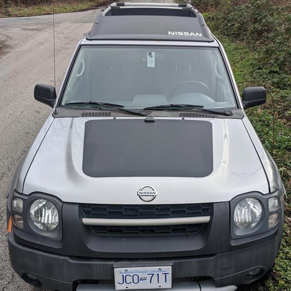 Cascadia 4x4 Nissan Xterra (1999-2015)- 90 Watt Hood Solar Panel VSS System