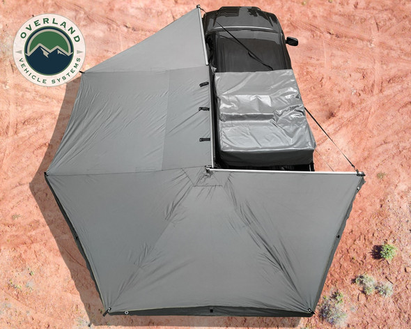 Overland Vehicle Systems Nomadic 270 Awning, Driver Side, 19519907