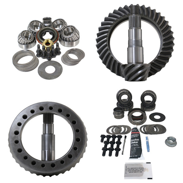 Revolution Gear Jeep JK Rubicon Dana 44 Gear Package Front/Rear (KOYO Master Overhaul Kit)