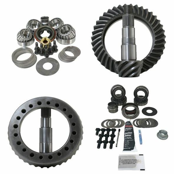 Revolution Gear Jeep JK (Non Rubicon) D44-D30 Gear Package Front/Rear (Timken Overhaul Kit)