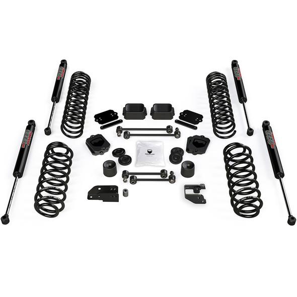 """Teraflex JL 4dr 3.5"""" Coil Spring Base Lift Kit & 9550 VSS Shocks - 1356050"""