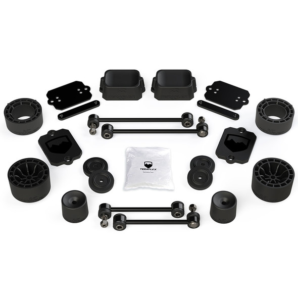 "Teraflex JL 2dr Sport/Sahara, 2.5"" Performance Spacer Lift Kit, no Shocks or Extensions"