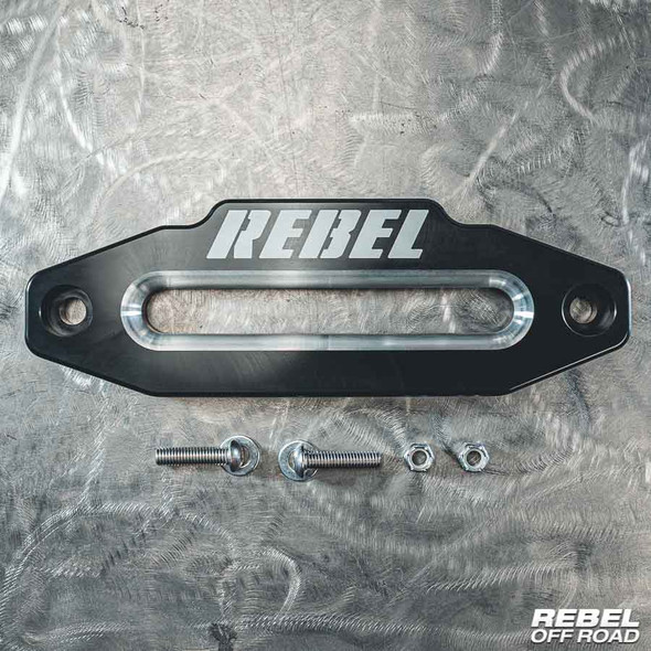 Rebel Off Road Aluminum Hawse Fairlead - Machined Billet