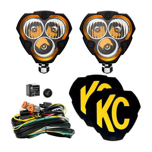 KC HiLiTESFLEX ERA® 3 - 2-Light System - 40W Combo Beam
