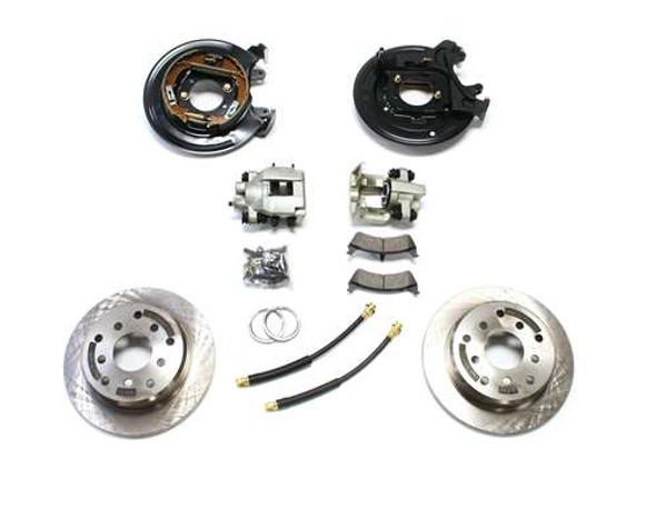 Teraflex 1987-1990 YJ / 1984-1988 XJ Rear Disc Brake Conversion Kit
