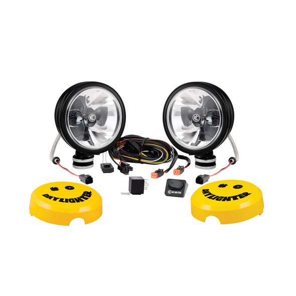 "KC HiLiTES6"" Daylighter Gravity® LED - 2-Light System - 20W Spot Beam"