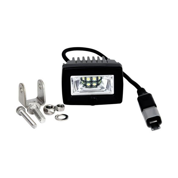 "KC HiLiTES2"" C-Series C2 LED - Single Light - Backup - 20W Flood Beam"