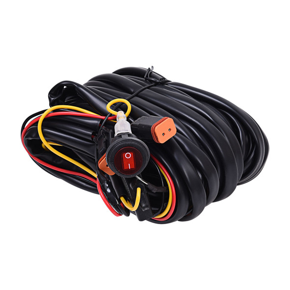 KC HiLiTESWiring Harness - for 2 Lights with 2-Pin Deutsch Connectors