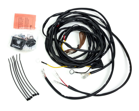 KC HiLiTESCyclone LED - Universal Wiring Harness for 2 Lights