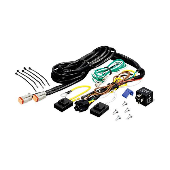 KC HiLiTESAdd-On Wiring Harness - Add 1-2 Lights - 2-Pin Deutsch Connectors