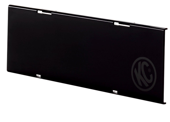 """KC HiLiTES10"""" C-Series LED - Light Shield - Black"""
