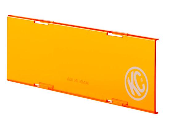 "KC HiLiTES10"" C-Series LED - Light Shield - Amber"