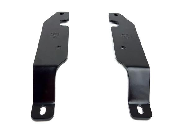 KC HiLiTESBracket Set - Pillar Mount - Pair - for 15-16 GM 2500/3500