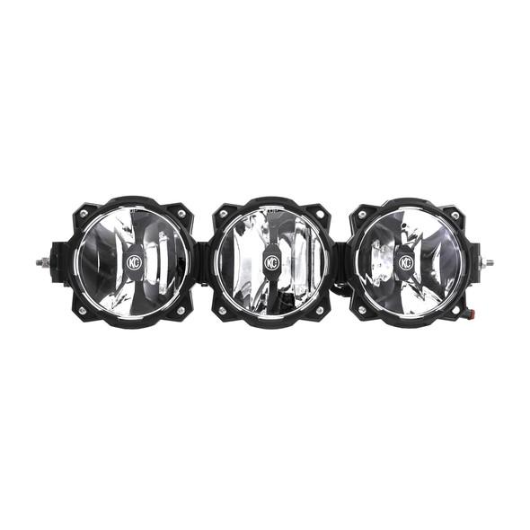 """KC HiLiTES20"""" Pro6 Gravity® LED - 3-Light- Light Bar System - 60W Combo Beam"""