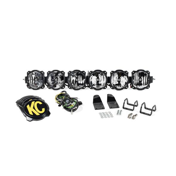 "KC HiLiTES39"" Pro6 Gravity® LED - 6-Light - Light Bar System - 120W Combo Beam - for Arctic Cat Wildcat"