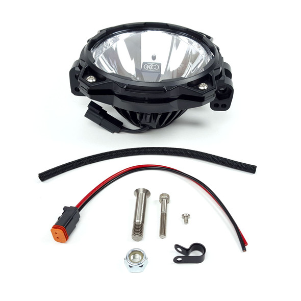 KC HiLiTESPro6 Gravity® LED - Add-On Driving Light System - SAE/ECE - 20W Driving Beam