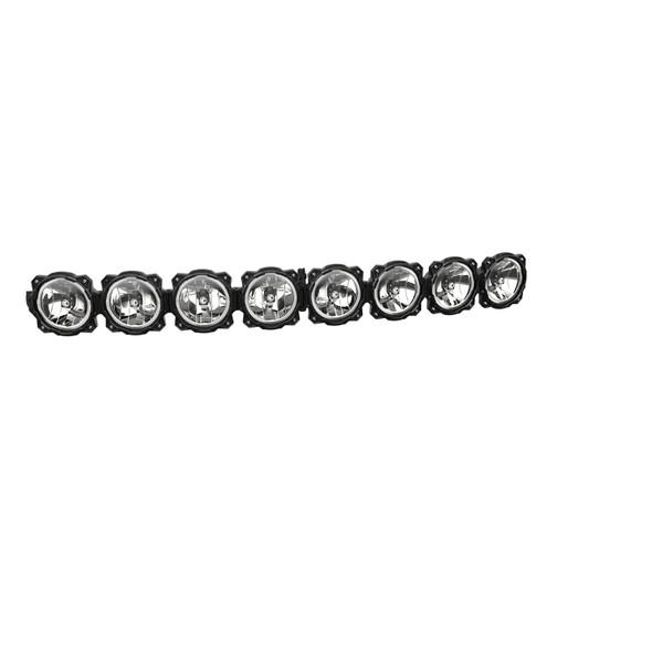 "KC HiLiTES50"" Pro6 Gravity® LED - 8-Light - Curved Light Bar System - 160W Combo Beam"