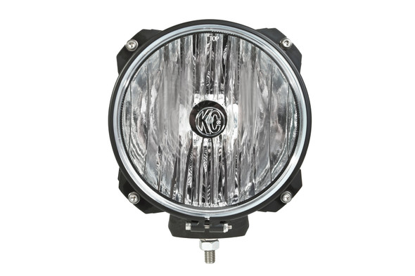 "KC HiLiTES7"" Carbon POD® HID - Single Light - 70W Spread Beam"