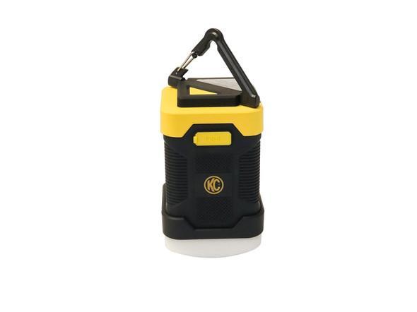 KC HiLiTESKC LED Power Lantern / Power Bank - Rubberized Casing - Black / Yellow