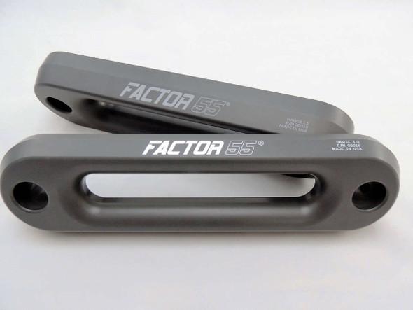 Factor 55 Hawse Fairlead, Gun Metal Gray