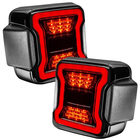 Oracle Black Series LED Tail Lights, Jeep Wrangler JL