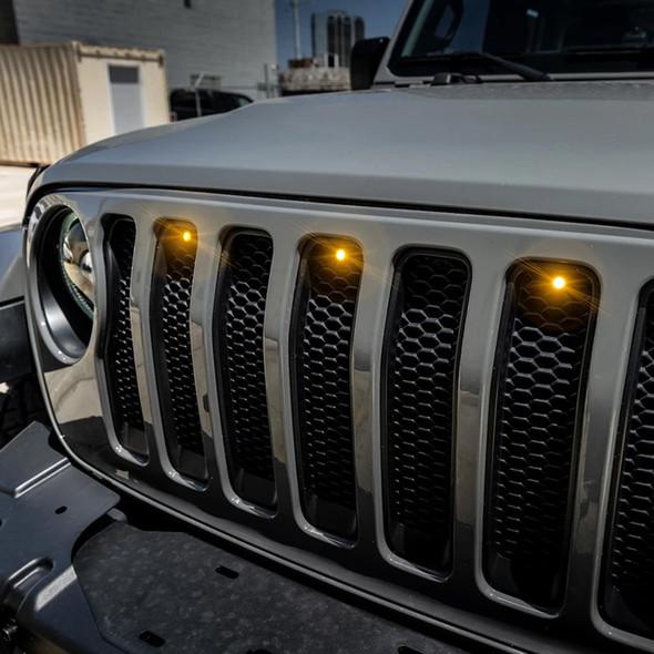 Oracle Pre-Runner LED Grill Light kit, Jeep Wrangler JL