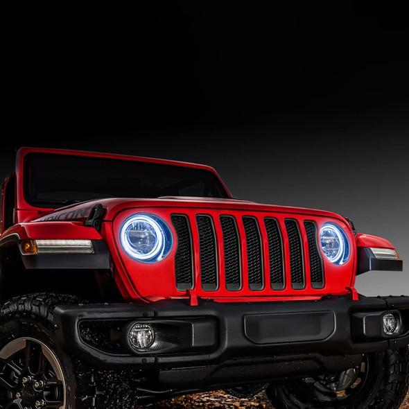 Oracle Headlight Halo Ring Kit, Jeep Wrangler JL/Gladiator JT